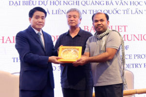 Chủ tịch UBND TP Nguyễn Đức Chung: Các nhà văn, nhà thơ song hành cùng sự đi lên của đất nước, của Thủ đô