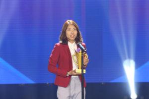 VĐV Hà Nội Bùi Thị Thu Thảo giành cú đúp giải thưởng ở Cúp chiến thắng 2018