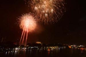 Chiêm ngưỡng màn pháo hoa chào năm mới Kỷ Hợi 2019