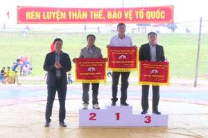 Quốc Oai nhất toàn đoàn Giải vô địch vật truyền thống mừng Xuân Kỷ Hợi TP Hà Nội 2019