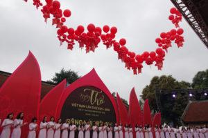 Ngày thơ Việt Nam 2019 khai mạc tại Văn Miếu – Quốc Tử Giám