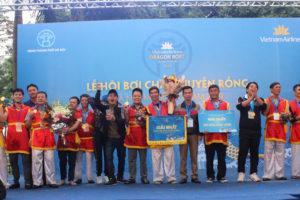 Lễ hội Bơi chải thuyền rồng Hà Nội: Đội nam Ứng Hòa và nữ Chương Mỹ vô địch nhóm quận huyện