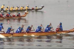 Tưng bừng Lễ hội bơi chải thuyền rồng Hà Nội mở rộng năm 2019