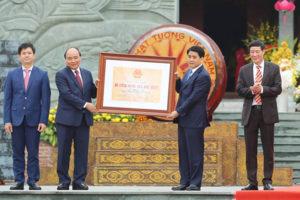 """Hà Nội đón nhận Bằng công nhận Di tích Quốc gia đặc biệt """"Gò Đống Đa"""""""