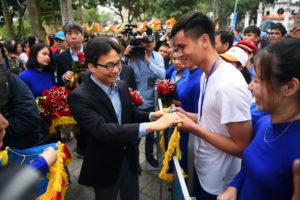 Khai mạc Lễ hội Bơi chải thuyền rồng Hà Nội mở rộng năm 2019