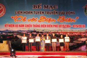 """Hà Nội giành nhiều giải thưởng trong Liên hoan Tuyên truyền lưu động toàn quốc """"Về với Điện Biên"""""""