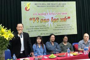 Nhà hát Cải lương Việt Nam khởi dựng vở mới