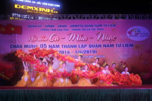 Chung khảo Hội diễn Ca – Múa – Nhạc quận Nam Từ Liêm