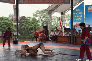 Khai mạc Giải vô địch Vật dân tộc toàn quốc lần thứ 22 – Hà Nội 2019