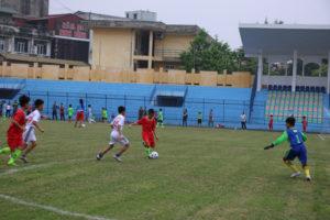 Hơn 500 VĐV tham dự Giải Bóng đá học sinh Tp Hà Nội năm học 2018-2019