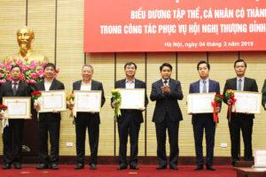 Hà Nội: Khen thưởng thành tích đột xuất cho 91 tập thể và 11 cá nhân trong công tác phục vụ hội nghị Thượng đỉnh Mỹ – Triều Tiên