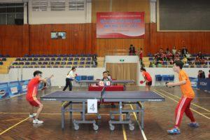 Khởi tranh giải bóng bàn học sinh TP Hà Nội năm học 2018-2019