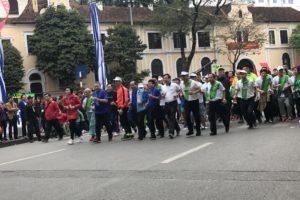 Hà Nội: 8.000 người tham gia Ngày chạy Olympic vì sức khỏe toàn dân