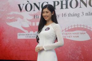 15 thí sinh lọt vào vòng Chung kết Đại sứ thiện chí hoa Anh đào