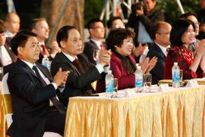 Chủ tịch UBND TP Hà Nội tham dự Lễ kỷ niệm 25 năm ngày Quốc tế Pháp ngữ 20/3
