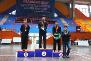 Kết thúc giải Pencak Silat học sinh TP Hà Nội năm học 2018-2019