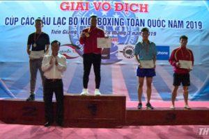 Nam Hà Nội đứng nhất tại giải Cup Kickboxing toàn quốc 2019