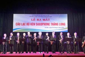 Lễ ra mắt Câu lạc bộ kèn Saxophone Thăng Long