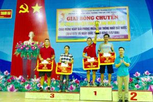 Giải Bóng chuyền vô địch huyện Thanh Oai năm 2019