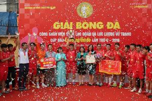 Đại học Thủy Lợi đăng quang giải bóng đá CNVCLĐ & LLVT Thủ đô 2019