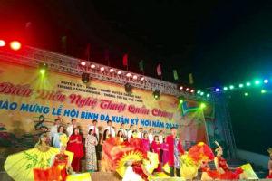 Chương trình biểu diễn Nghệ thuật quần chúng chào mừng lễ hội Bình Đà xuân Kỷ Hợi năm 2019