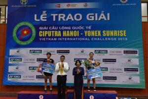 Giải Cầu lông quốc tế Ciputra Hà Nội 2019 khép lại với thắng lợi rực rỡ cho đoàn Indonesia