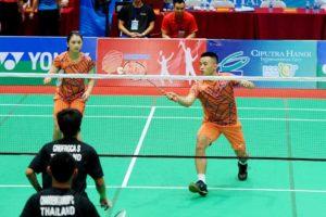 Giải cầu lông quốc tế Ciputra Hanoi 2019: Chủ nhà không còn đại diện nào góp mặt ở vòng tứ kết