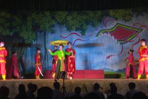 Huyện Đông Anh tổ chức biểu diễn nghệ thuật chèo chào mừng 1080 năm Ngô Quyền xưng Vương tại Đông Anh.