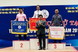 Hà Nội đứng nhất toàn đoàn tại giải Vô địch Cử tạ Thanh thiếu niên toàn quốc 2019