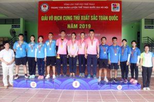 Hà Nội dẫn đầu tại giải vô địch cung thủ xuất sắc toàn quốc 2019