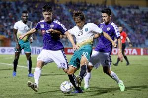 CLB Hà Nội 'sảy chân' trước Yangon United trên sân nhà