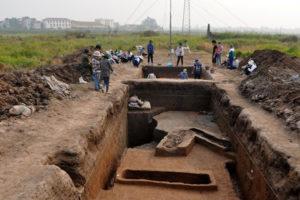 Cho phép thăm dò, khai quật khảo cổ Di tích khảo cổ Vườn Chuối