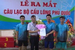 Huyện Quốc Oai ra mắt Câu lạc bộ cầu lông Phủ Quốc