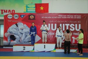Hà Nội dẫn đầu toàn đoàn tại Giải Vô địch Các Câu lạc bộ Ju-jitsu toàn quốc 2019
