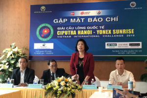 18 quốc gia tham dự Giải Cầu lông quốc tế Ciputra Hanoi – Yonex Sunrise Vietnam International Challenge 2019