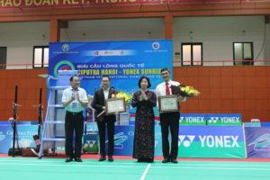 Khai mạc giải Cầu lông quốc tế Ciputra Hà Nội 2019