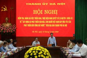 Tổng kết công tác xây dựng và phát triển văn hóa, con người Việt Nam trên địa bàn TP Hà Nội