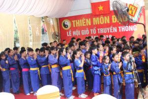 Lễ hội Giỗ tổ truyền thống Thiên Môn Đạo năm 2019