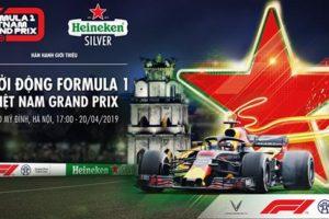 Đua thử xe F1 lần đầu tại Hà Nội