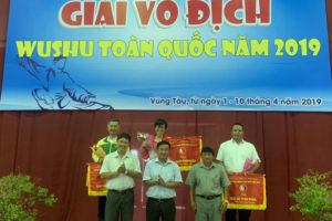 Đoàn Hà Nội đã bảo vệ thành công ngôi vị số 1 tại giải vô địch Wushu toàn quốc năm 2019