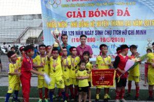 Bế mạc Giải bóng đá Thiếu niên, nhi đồng huyện Thanh Oai năm 2019