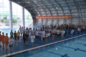 Thanh Trì phát động toàn dân tập luyện môn bơi 2019