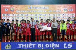 Hà Nội giành Á quân Giải bóng đá nữ Cúp Quốc gia 2019