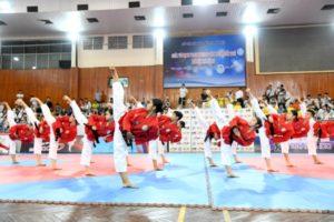 Gần 600 VĐV tham giải Vô địch Taekwondo các lứa tuổi trẻ Hà Nội năm 2019