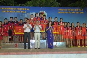 Kết thúc Giải vô địch cầu mây bãi biển toàn quốc năm 2019: Hà Nội giành HCV nội dung đồng đội 4 nữ