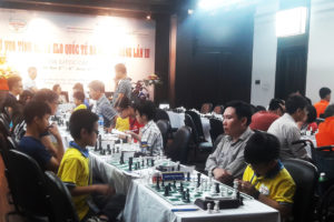 Khai mạc giải cờ vua tính hệ số elo quốc tế duy nhất tại Hà Nội