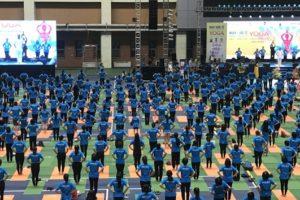 'Yoga cho cuộc sống xanh'