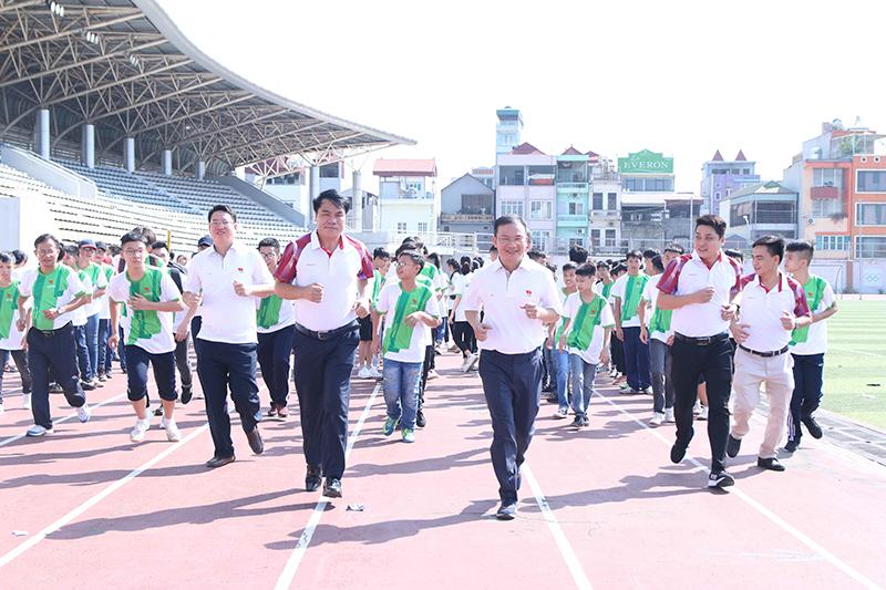 Ngày Olympic trẻ em tại Hà Nội