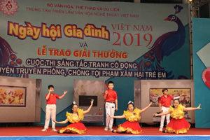 Hà Nội tổ chức biểu diễn nghệ thuật, tuyên truyền về gia đình và phòng chống bạo lực gia đình