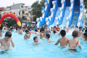 Sơn Tây phổ cập bơi phòng, chống tai nạn đuối nước miễn phí